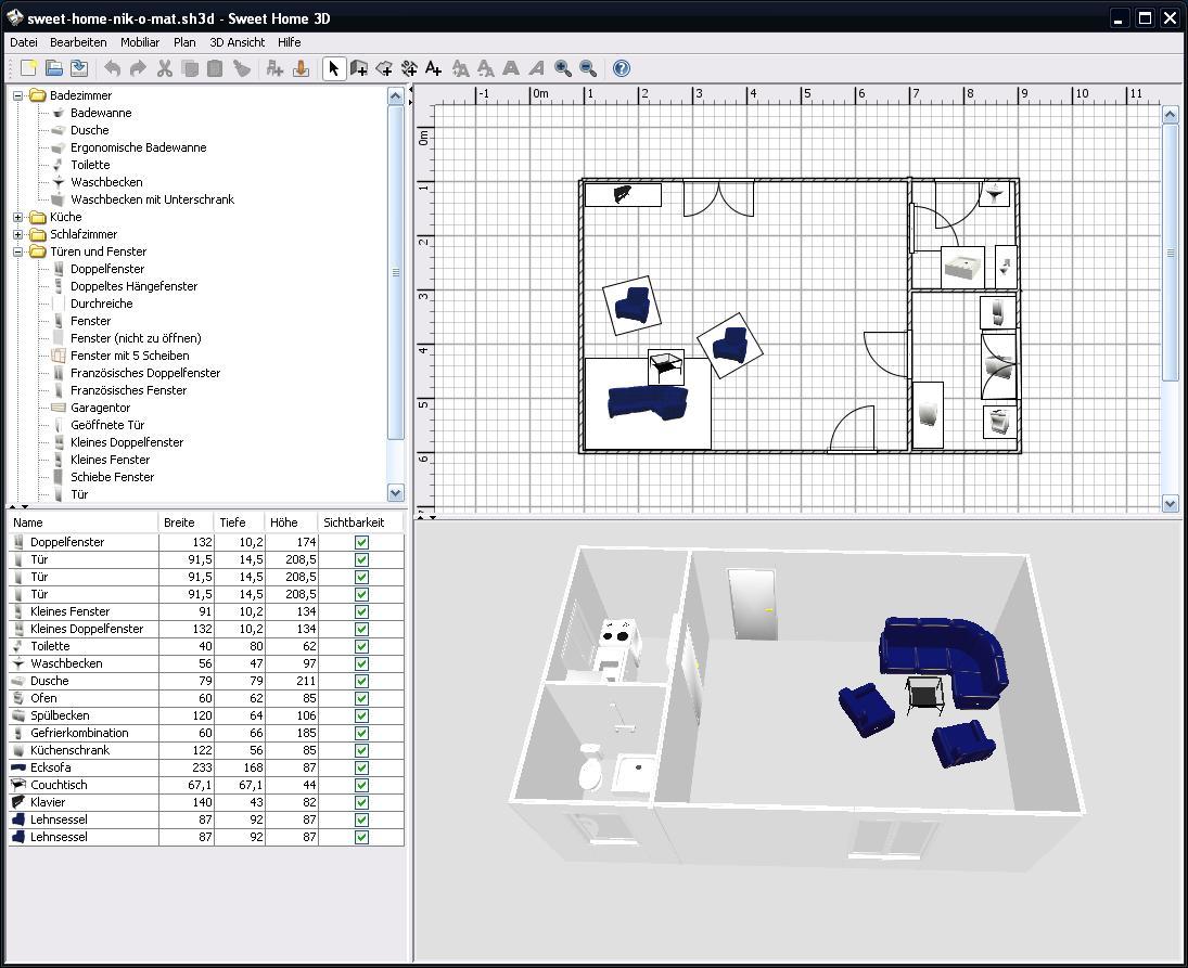 Süßes Heim - freier 3D Modellierer - nik-o-mat - Nikos Wissen Online ...