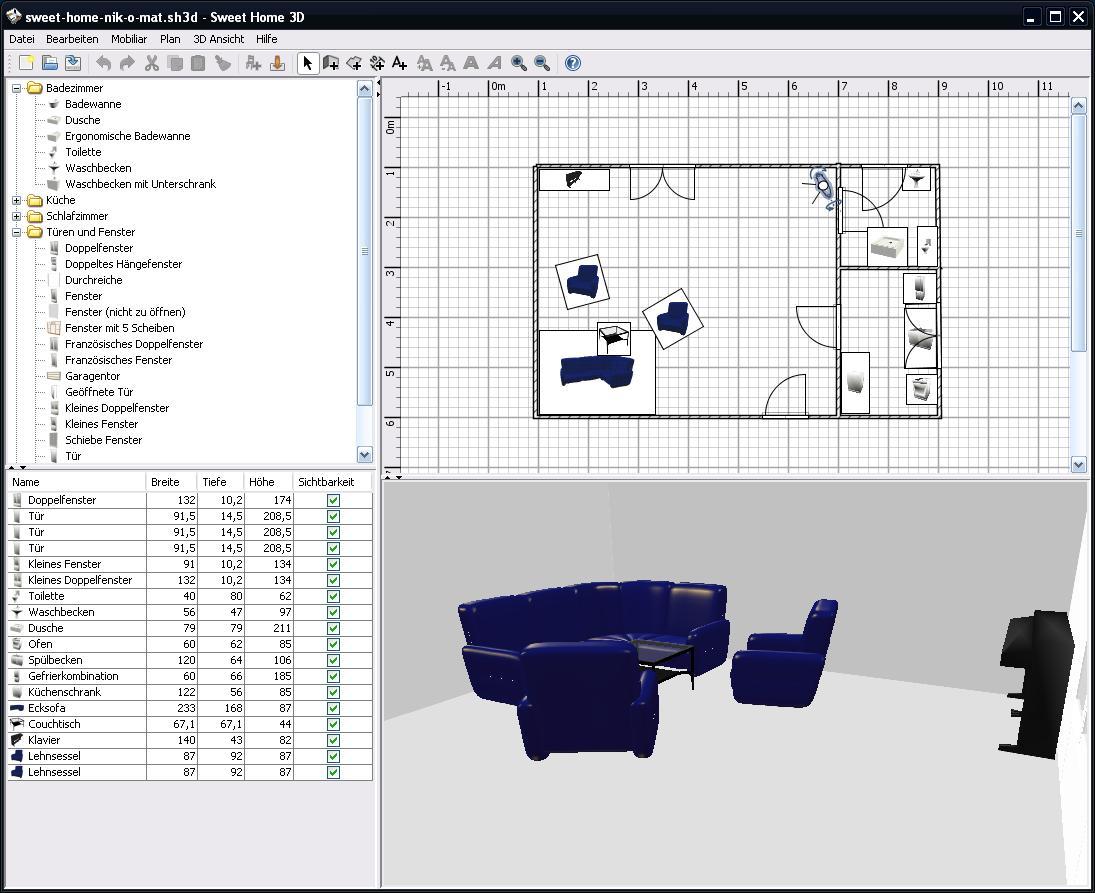 s es heim freier 3d modellierer nik o mat nikos wissen online weil es geht. Black Bedroom Furniture Sets. Home Design Ideas